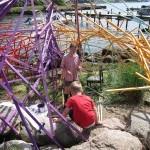 Om du bygger en regnbåge så följer jag med av Cell: Mattias Gunnarsson och Oskar Broberg