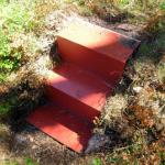 Tre Trapp- objekt-alternativa vägar i naturen av Tomas Niklasson