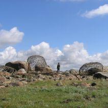 3 Steine / 3 Stenar / 3 Stones av Frank Nordiek Wolfgang Buntrock